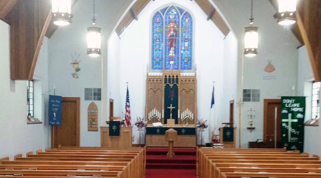 St. Paul Lutheran- church interior photo-landscape